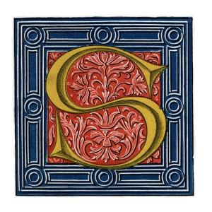 Initial Letter S by Henry Shaw