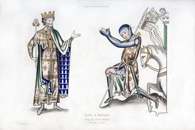 King and Knight, Late 12th Century