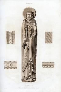 King Clovis I, C1100 by Henry Shaw