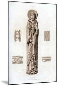 King Clovis I, C1100 by Henry Shaw