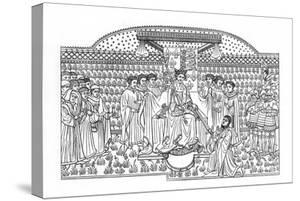 King Henry VI Presenting a Sword to the Earl of Shrewsbury, C1445 by Henry Shaw