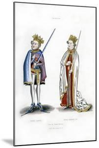 King John and King Henry I, C1440 by Henry Shaw