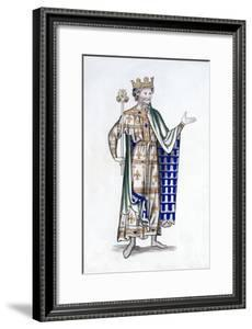 King, Late 12th Century by Henry Shaw