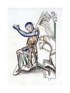 Knight, Late 12th Century by Henry Shaw