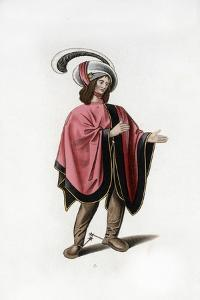 Male Dress, C1480 by Henry Shaw