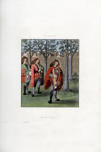 Minstrels, C1480 by Henry Shaw
