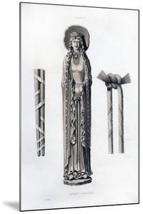 Queen Clotilda, C1100 by Henry Shaw