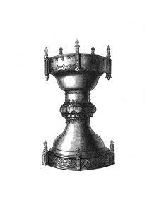 Religious or Household Vessel, 15th Century by Henry Shaw