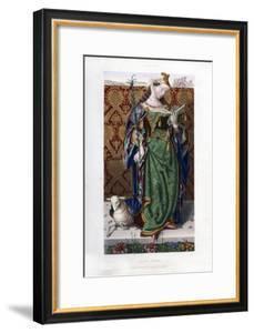 Saint Agnes, C1520 by Henry Shaw