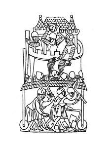 Siege, C1260 by Henry Shaw