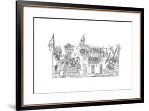 Siege Scene, C1260 by Henry Shaw