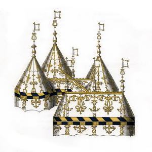 Tent Design, 16th Century by Henry Shaw