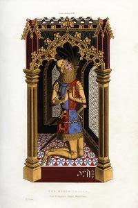The Black Prince, C1355 by Henry Shaw