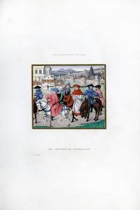 The Canterbury Pilgrimage, Late 15th Century by Henry Shaw