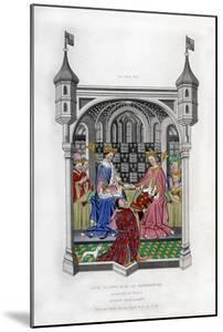 The Earl of Shrewsbury Presenting His Book to Queen Margaret, C1445 by Henry Shaw