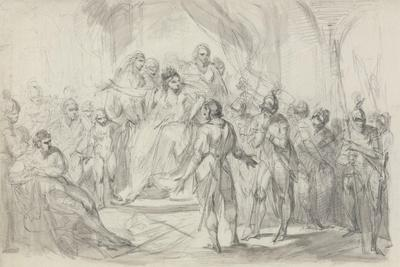 Stephen Brought Prisoner to Empress Mathilda