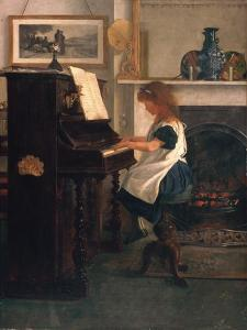 At the Piano by Henry Stacey Marks