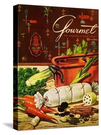 Gourmet Cover - April 1954