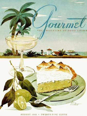 Gourmet Cover - August 1944