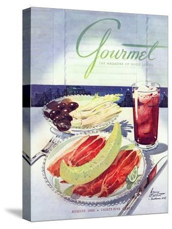 Gourmet Cover - August 1950