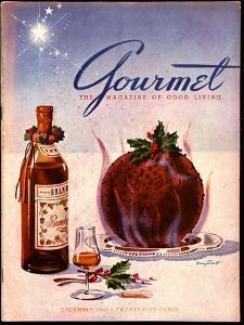 Gourmet Cover - December 1941 by Henry Stahlhut