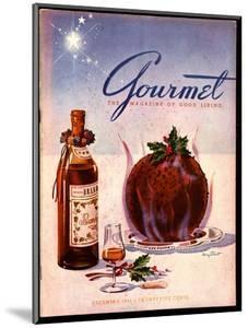 Gourmet Cover - December 1941 by Henry Stahlhut
