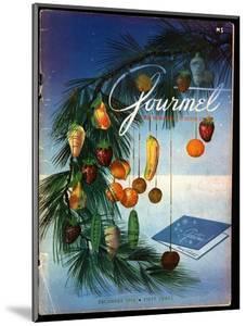 Gourmet Cover - December 1952 by Henry Stahlhut