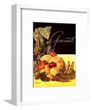 Gourmet Cover - January 1952