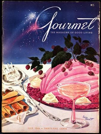 Gourmet Cover - July 1949