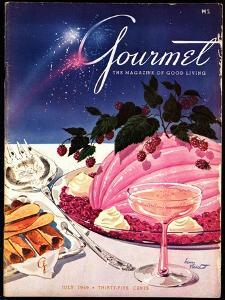 Gourmet Cover - July 1949 by Henry Stahlhut
