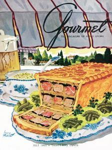 Gourmet Cover - July 1950 by Henry Stahlhut