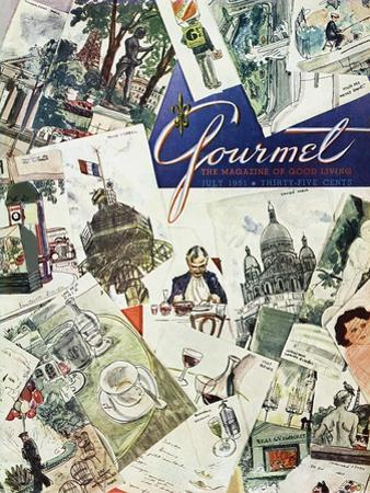 Gourmet Cover - July 1951