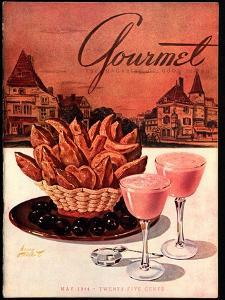 Gourmet Cover - May 1944 by Henry Stahlhut