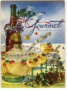 Gourmet Cover - May 1953 by Henry Stahlhut