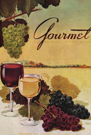 Gourmet Cover - October 1942