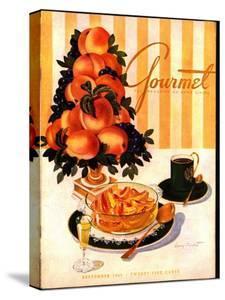 Gourmet Cover - September 1945 by Henry Stahlhut