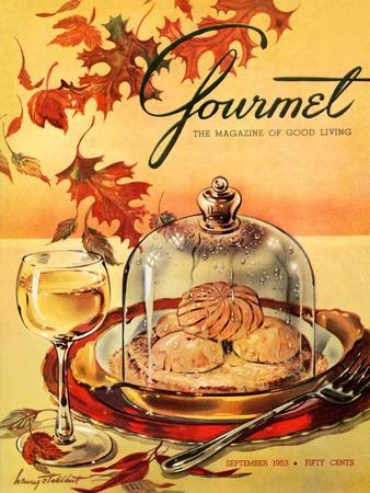Gourmet Cover - September 1953