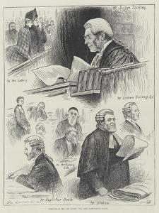 Sketches in the Law Courts, the Lord Chancellor's Court by Henry Stephen Ludlow