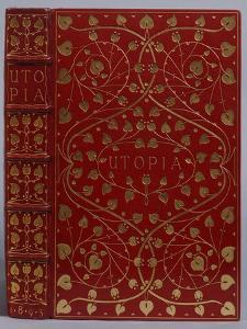 A Crushed Red Levant Morocco Gilt Binding of Utopia by Sir Thomas More. Kelmscott Press, 1893 by Henry Thomas Alken