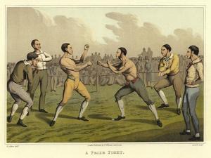 A Prize Fight by Henry Thomas Alken