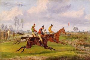 A Steeplechase by Henry Thomas Alken