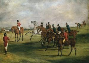 At the Start by Henry Thomas Alken