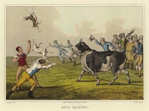 Bull Baiting by Henry Thomas Alken
