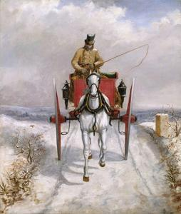 Christmas Deliveries by Henry Thomas Alken