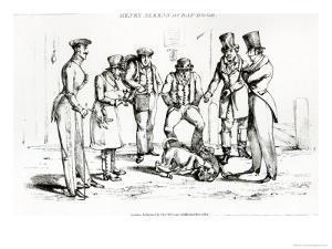 Dog Fight, 1824 by Henry Thomas Alken