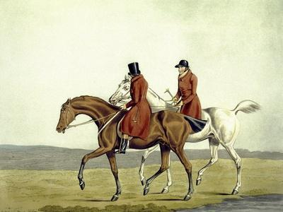 Going Home, Meltonians as They Were, from 'The Meltonians', Engraved by George Hunt, 1823