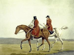 Going Home, Meltonians as They Were, from 'The Meltonians', Engraved by George Hunt, 1823 by Henry Thomas Alken