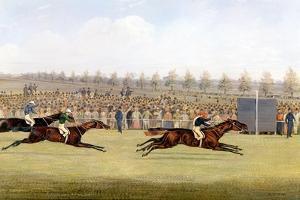 Racing Scene by Henry Thomas Alken
