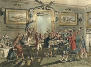 Social, Drinking Party by Henry Thomas Alken