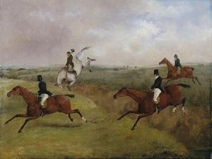The Grand Leicestershire Steeplechase: Dick Christian's Last Fall - Commonly Called 'A Header' by Henry Thomas Alken